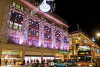 Marks & Sparks and Selfridges Christmas Lights