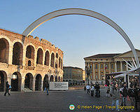 Verona Arena on Piazza Bra