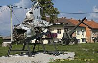 Karlovac - Croatia - Site of the Future Museum of the Homeland War