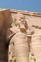 The Great Temple of Abu Simbel was built in the 13th century to honor Ramses II.