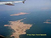 Flying back to Aswan from Abu Simbel