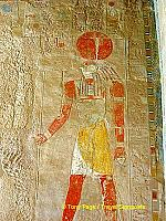 Ra-Harakhty, the sun god