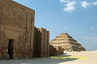 [Step Pyramid of Djoser - Saqqara - Egypt]