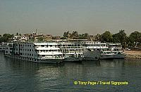 Nile River cruisers