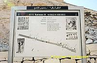 Site map of Tomb of Rameses IX