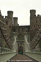 Completed in 1826, it was designed in a castellated style to blend with the Castle