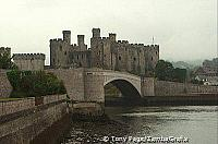 Conwy Castle - shot taken from New Bridge