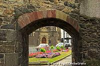 The walls form an almost unbroken shield around the old town