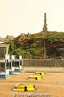 Ferry entry and the Holyhead obelisk
