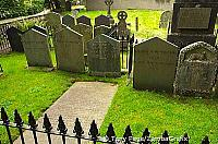 Wordsworth Family Graves at St. Oswald's church