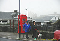 Morning strollers in Princetown
