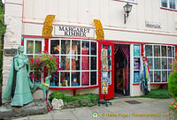 Margaret Kimber is a dress shop in The Courtyard