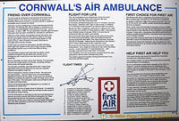 Interesting facts about Cornwall's air ambulance
