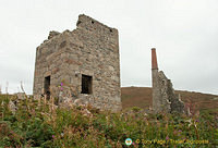 Part of Cornwall's mining heritage attractions.