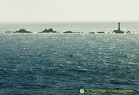 The wild seas at Land's End