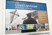 About things you can learn at the Lizard Lighthouse Heritage Centre