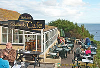 Polpeor Cafe - the most southerly cafe has magnificent views
