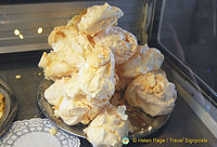 Meringues from the Polpeor Cafe