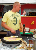 Camden Markets - Ham and egg pancake