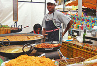 Camden Markets - Briyani and curries