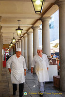 Along the East Colonnade Market
