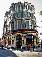 The Roundhouse - a traditional London pub with a good range of beers and wines.