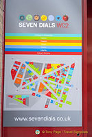 Seven Dials is area of Covent Garden