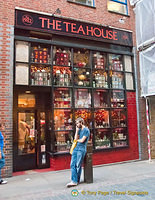The Tea House at 15a Neal Street
