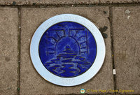 Islington Canal Tunnel marker