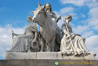 Albert Memorial - Sculpture representing Europe
