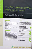 General Information about the Diana Memorial Playground