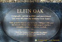 The Elfin Oak - originally carved in 1911
