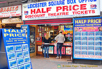 Half price theatre tickets