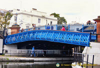 Blue Iron Footbridge
