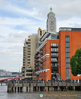 A view of the OXO Tower