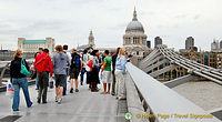 Crossing the Millenium Bridge