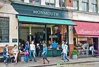 Monmouth Cafe in Borough Market