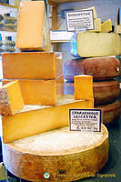 Neal's Yard cheeses