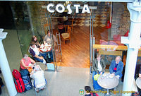 Costa Coffee at St Pancras