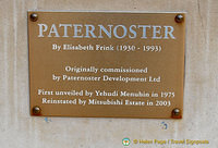 About the Paternoster sculpture