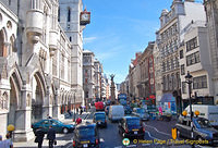 The Strand and Fleet Street