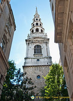 St Brides Church on Fleet Street