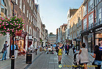 South Molton Street shopping