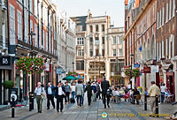 Shopping in South Molton Street