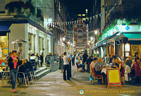 Restaurants, cafes and bars in St Christopher's Place