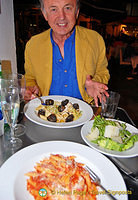 Tony at Carluccio's