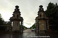 Entrance to Blenheim Palace