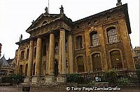 An old image of Clarendon Building before it was cleaned and restored in 2006