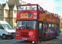 Hop-on Hop-off Oxford sightseeing bus