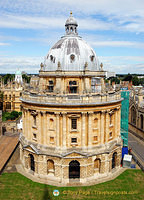 Radcliffe Camera taken from St Mary's tower